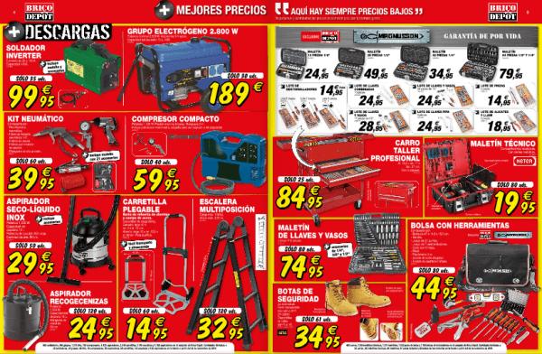 Generador, escalera y otros - Catálogo Brico Depot enero 2015