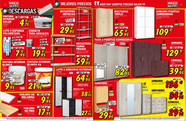 Estanterías, armarios - Catálogo Brico Depot enero 2015
