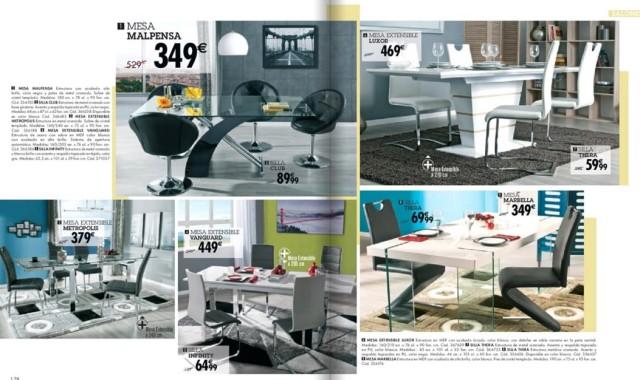 catalogo-conforama-navidad-2015-mesas-y-sillas