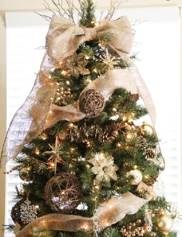 decoracion-arboles-de-navidad-2015-colores-tonos-ocre-marron