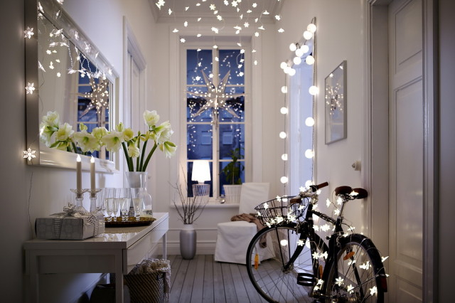 Decoration-christmas-rooms-photos-entrance-lights