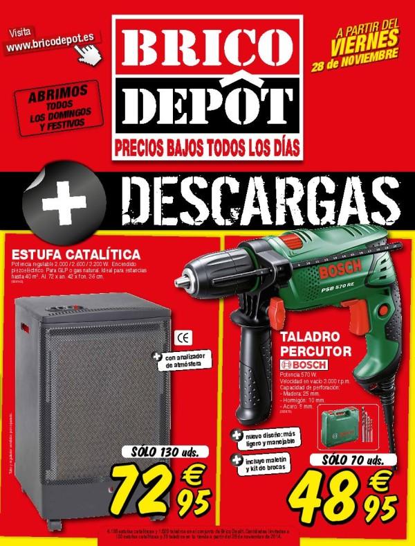 Portada catálogo Brico Depot diciembre 2014