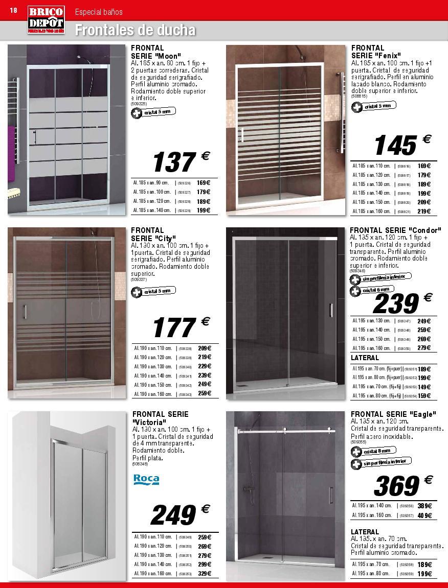 Accesorios De Baño Conforama: viendo una imagen del post Catálogo de baño Brico Depot 2015