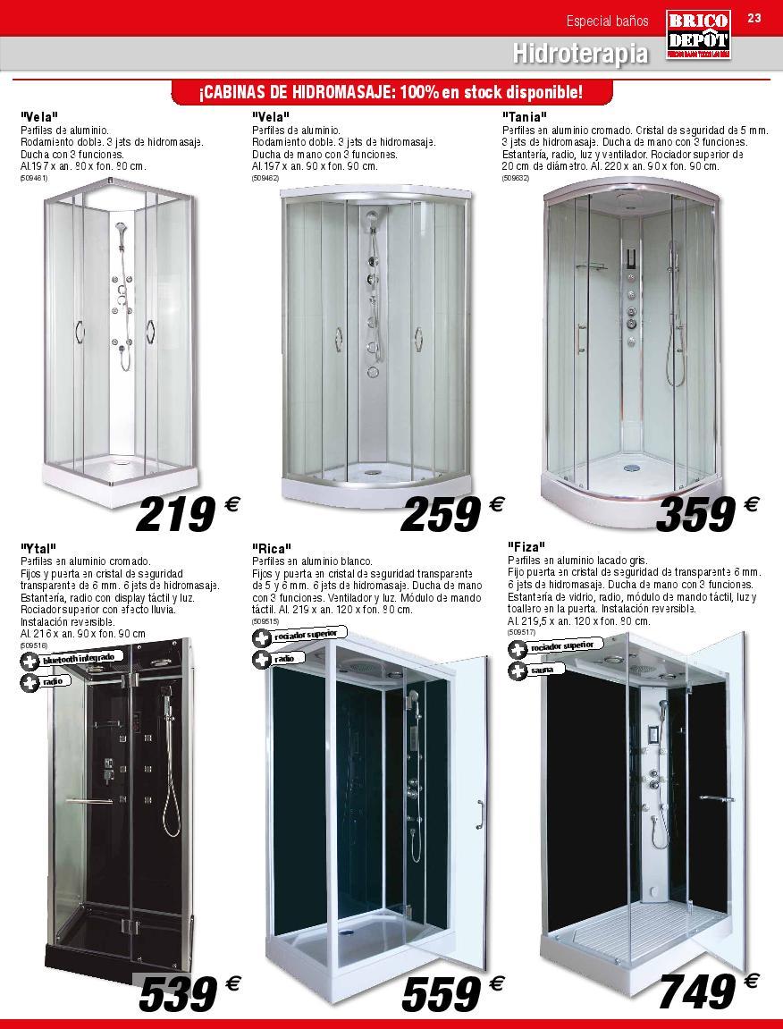 Catálogo de baño Brico Depôt 2020 - EspacioHogar.com