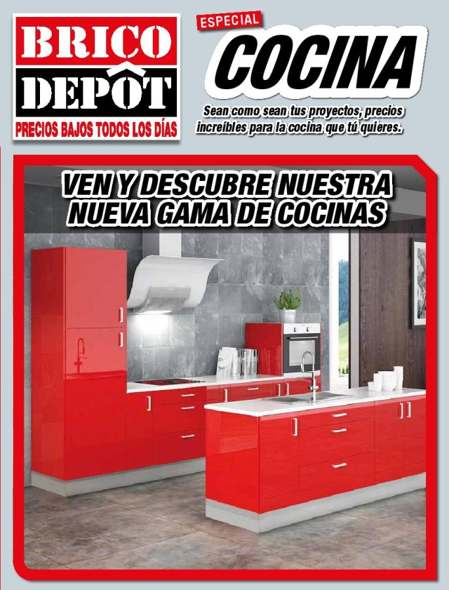 Cocinas brico depot 2016 for Gresite piscina bricodepot