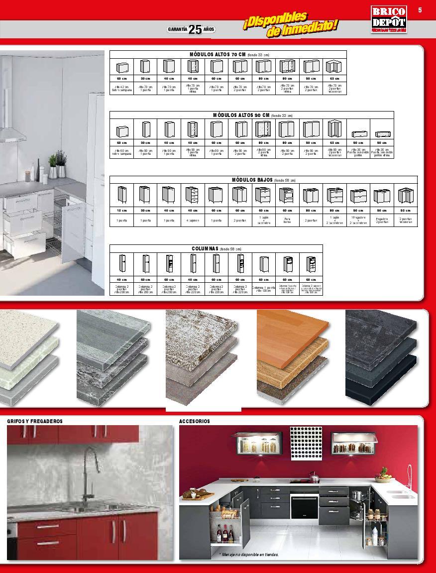 Muebles De Cocina En Kit Brico Depot # Muebles Lavabo Bricodepot