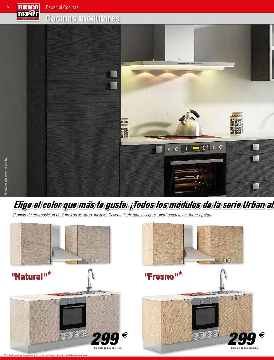 Cocinas brico depot for Encimera cocina bricomart