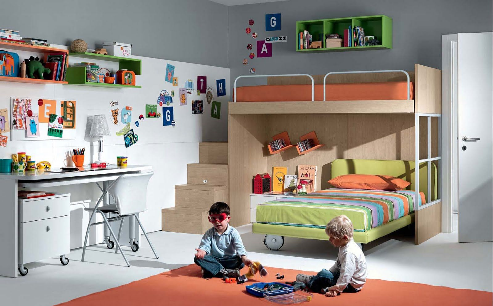 Dormitorios Juveniles Ninos Fotos Dise Os Arquitect Nicos  # Muebles Refolio Ofertas