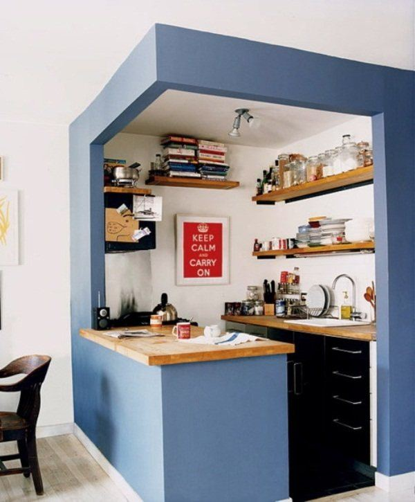 small kitchen-how-to decorate