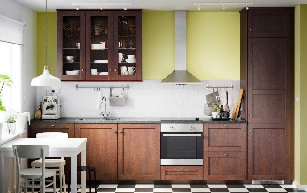 Ideas cocinas peque as 2015 muebles de madera de ikea - Cocina madera ikea ...