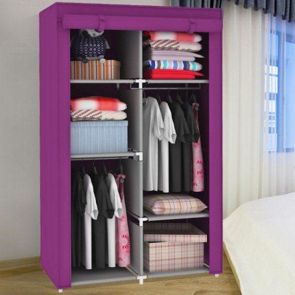 8 trucos brillantes para tu peque simo armario - Armarios de ropa ikea ...