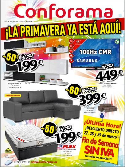 Cat logo conforama 2017 ofertas diciembre for Sofas conforama catalogo