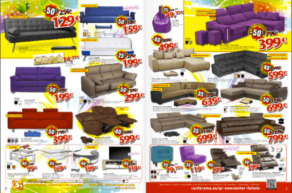 Cat logo conforama ofertas navidad for Sofas conforama catalogo