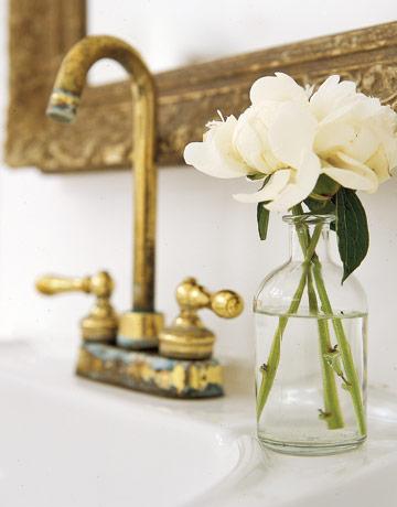 fotos-baño-rustico-IDEAS-flores