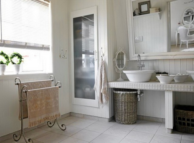 fotos-de-baños-rusticos
