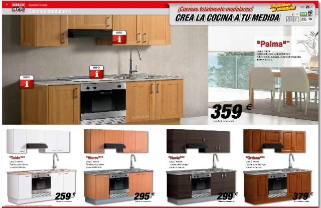Brico depot for Muebles de cocina baratos en sevilla