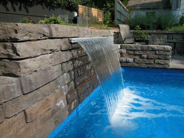 De 100 fotos de modelos de fuentes de jard n - Fuentes para piscinas ...
