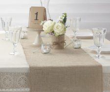 Más de 100 fotos con ideas de Caminos de Mesa para decorar la mesa