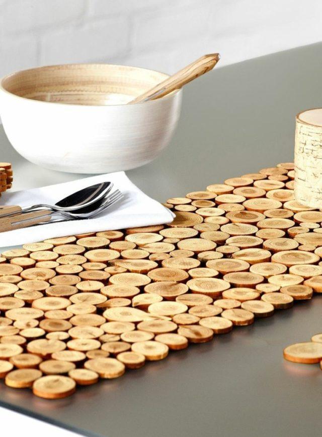 camino-de-mesa-como-hacer-madera-discos