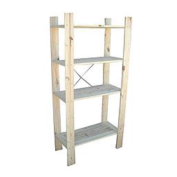 estanteria madera leroy merlin