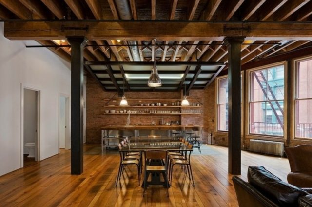De 50 ideas de techos de madera para terrazas - Suelos rusticos para interior ...