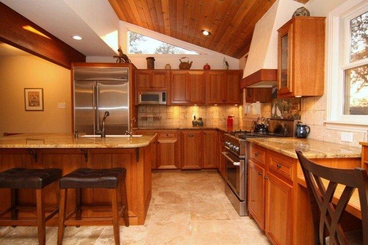Techos de madera para la casa dise o cocina techo madera for Techos de madera para casas