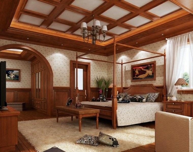 Techos de madera para la casa techos de madera clasico for Techos de madera para casas