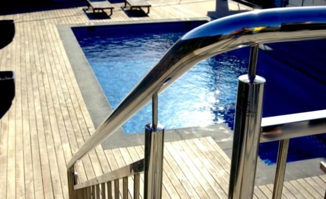 Acero inoxidable piscina