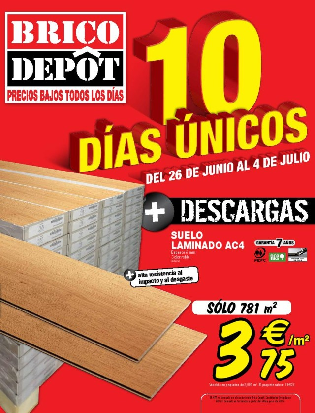 parquet bricodepot materiales de construcci n para la. Black Bedroom Furniture Sets. Home Design Ideas