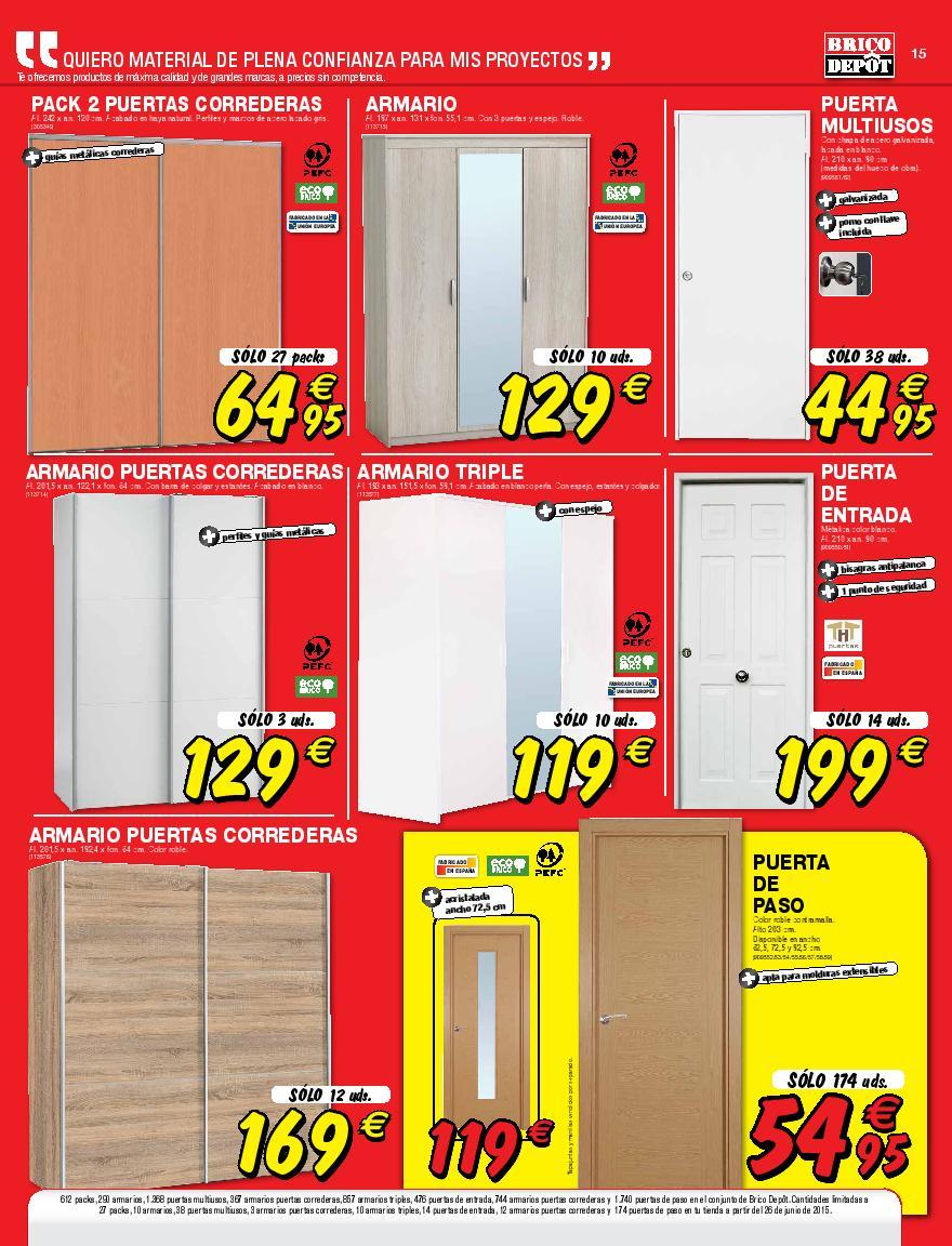 Aparador Espelhado Para Sala ~ Brico Depot julio 2015 unicos catalogo page 015