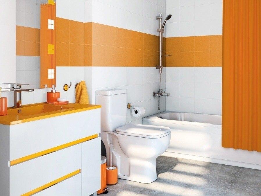 ba o leroy merlin azulejos naranjas