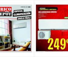 Catálogo climatización de Brico Dêpot 2016