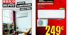 Catálogo climatización de Brico Depot 2018