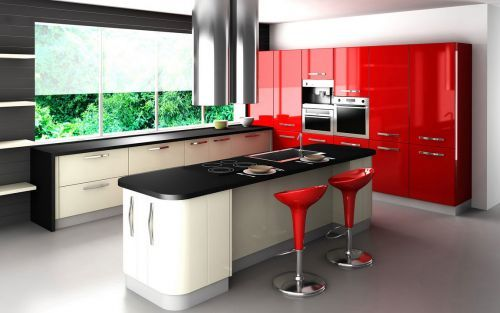 cocinas-integrales-modernas-modelo-retro-distintos-colores ...