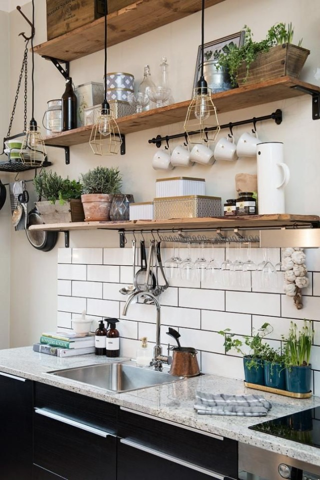 best-photos-shelves-wood-kitchen