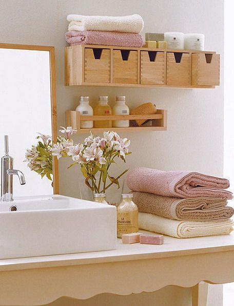 repisas-de-madera-baño