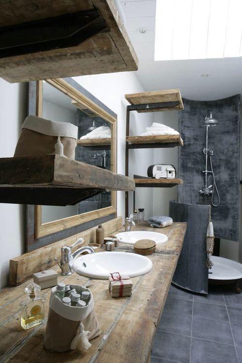 repisas-madera-baño-rustico