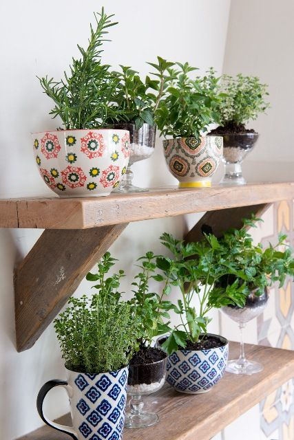 shelves-wood-kitchen-planter