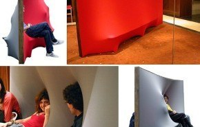 Un sofá para sentarse por varios lados