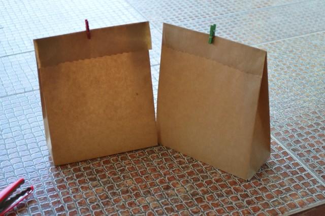 2d32548d6 Cómo hacer bolsas de papel kraft - DIY - EspacioHogar.com