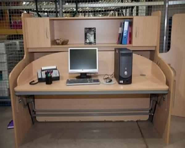 escritorio convertible cama