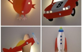 Lámparas Etsy para el dormitorio infantil