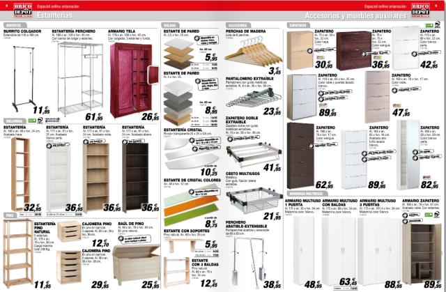 Brico depot cat logo armarios y almacenamiento - Arcones de resina bricodepot ...