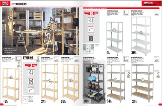brico depot cat logo armarios y almacenamiento. Black Bedroom Furniture Sets. Home Design Ideas