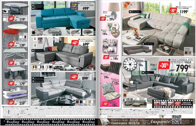 01 ofertas sofas conforama octubre 2015 - Conforama sevilla catalogo ...