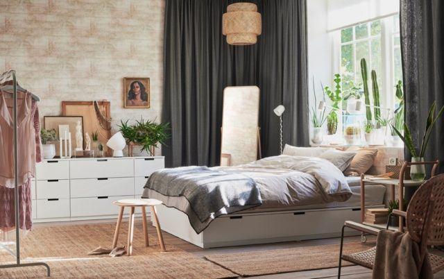 35 ideas de decoraci n cortinas para el dormitorio 2019 for Cortinas para dormitorio matrimonial