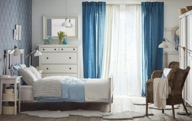 Ideas de decoraci n cortinas para el dormitorio 2018 for Cortinas visillos para dormitorios