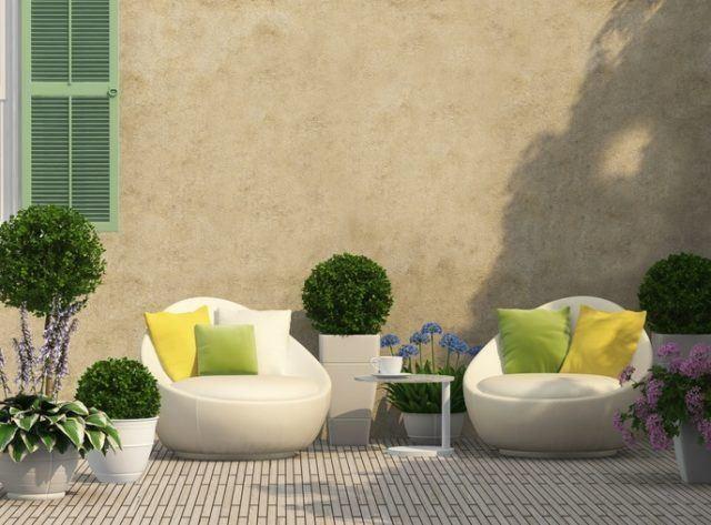 Catalogo bricorama junio aire libre terraza acogedora con plantas