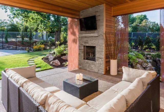 Catalogo bricorama junio aire libre terraza chimenea artificial