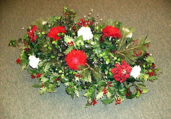 Como hacer centros de flores para cementerio - Como hacer centro de flores artificiales ...